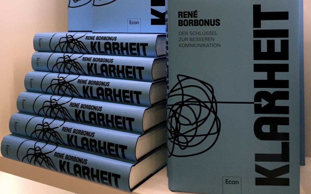 """Buchrezension – """"KLARHEIT"""" von René Borbonus"""